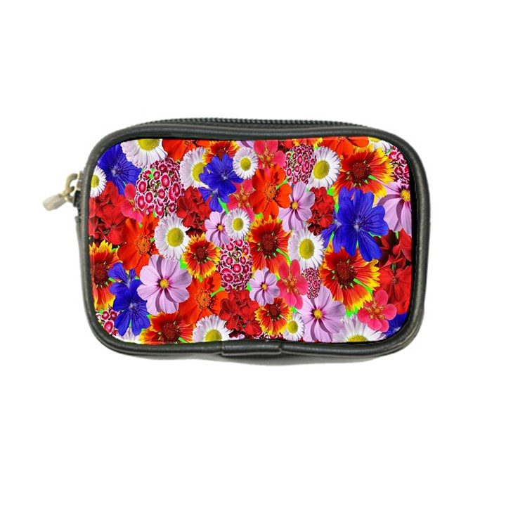 Multicolored Daisies Coin Purse