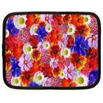 Multicolored Daisies Netbook Case (XL) Front