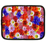 Multicolored Daisies Netbook Case (XXL) Front