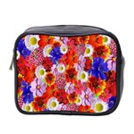 Multicolored Daisies Mini Toiletries Bag (Two Sides) Front