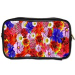Multicolored Daisies Toiletries Bag (Two Sides) Front