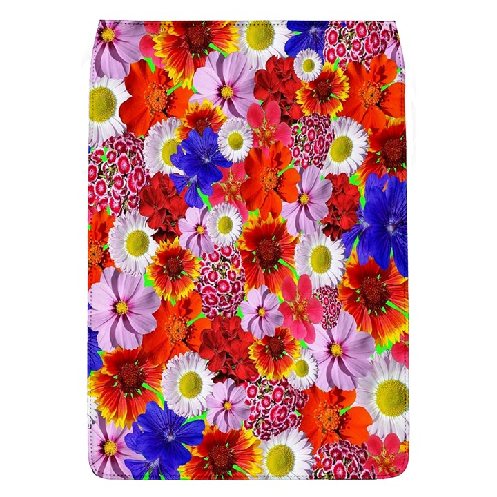 Multicolored Daisies Removable Flap Cover (L)