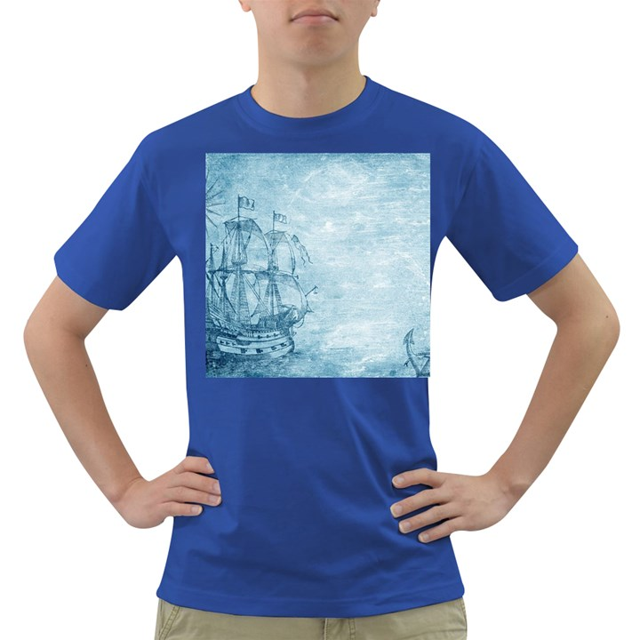 Sail Away - Vintage - Dark T-Shirt
