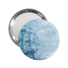 Sail Away   Vintage   2 25  Handbag Mirrors
