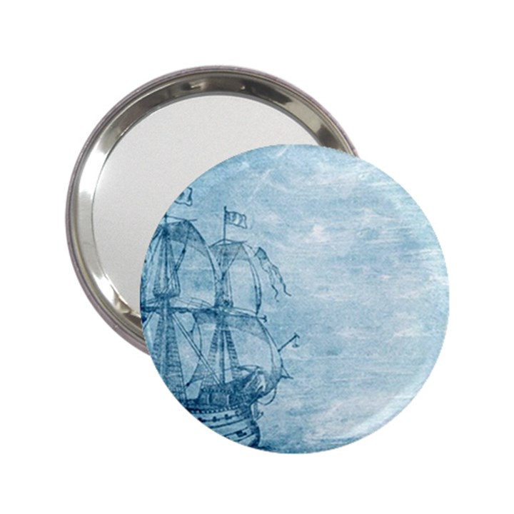 Sail Away - Vintage - 2.25  Handbag Mirrors
