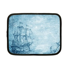 Sail Away   Vintage   Netbook Case (small)