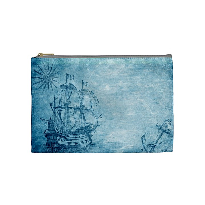 Sail Away - Vintage - Cosmetic Bag (Medium)