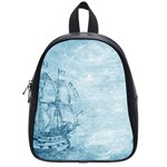Sail Away - Vintage - School Bag (Small) Front