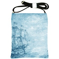 Sail Away   Vintage   Shoulder Sling Bag by WensdaiAddamns