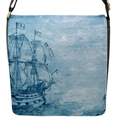 Sail Away   Vintage   Flap Closure Messenger Bag (s) by WensdaiAddamns