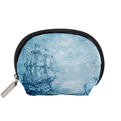 Sail Away   Vintage   Accessory Pouch (small) by WensdaiAddamns