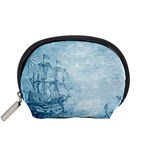 Sail Away - Vintage - Accessory Pouch (Small) Front