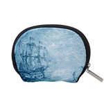 Sail Away - Vintage - Accessory Pouch (Small) Back