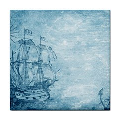 Sail Away   Vintage   Tile Coasters by WensdaiAddamns