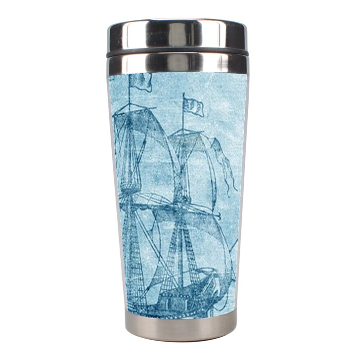 Sail Away - Vintage - Stainless Steel Travel Tumblers