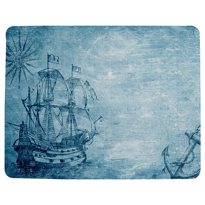 Sail Away - Vintage - Jigsaw Puzzle Photo Stand (Rectangular)