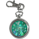 Dinosaur Family - Green - Key Chain Watches Front