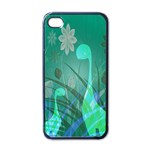 Dinosaur Family - Green - Apple iPhone 4 Case (Black) Front