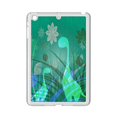 Dinosaur Family   Green   Ipad Mini 2 Enamel Coated Cases by WensdaiAddamns