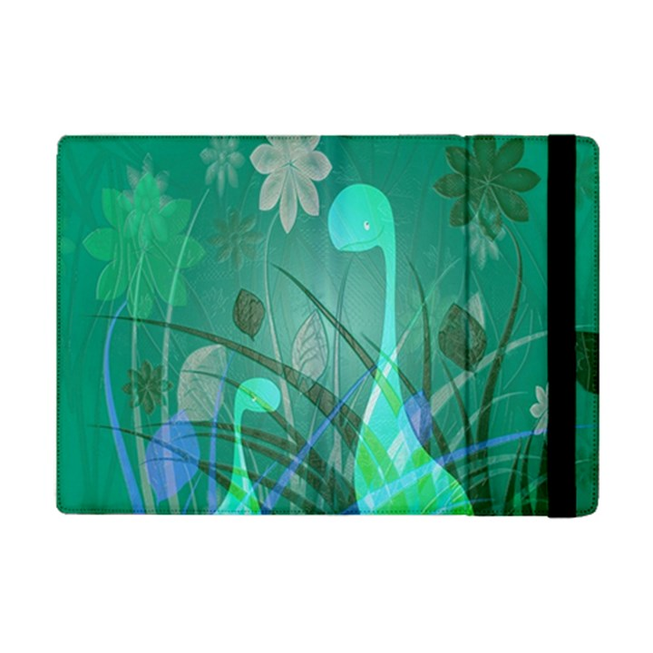 Dinosaur Family - Green - iPad Mini 2 Flip Cases