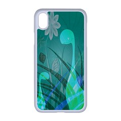 Dinosaur Family   Green   Apple Iphone Xr Seamless Case (white) by WensdaiAddamns
