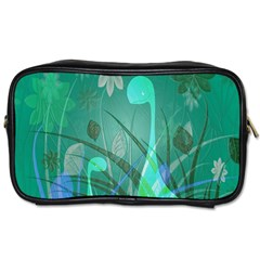 Dinosaur Family   Green   Toiletries Bag (one Side) by WensdaiAddamns