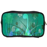 Dinosaur Family - Green - Toiletries Bag (Two Sides) Front