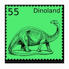 Dinoland Stamp   Medium Glasses Cloth (2 Side) by WensdaiAddamns
