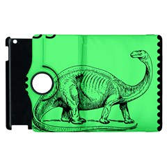Dinoland Stamp   Apple Ipad 3/4 Flip 360 Case by WensdaiAddamns