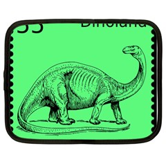 Dinoland Stamp   Netbook Case (xl) by WensdaiAddamns