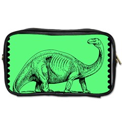 Dinoland Stamp   Toiletries Bag (one Side) by WensdaiAddamns