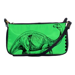 Dinoland Stamp   Shoulder Clutch Bag by WensdaiAddamns