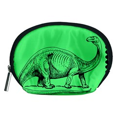 Dinoland Stamp   Accessory Pouch (medium) by WensdaiAddamns