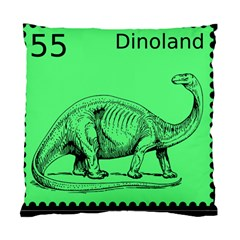 Dinoland Stamp   Standard Cushion Case (two Sides) by WensdaiAddamns