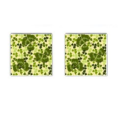Drawn To Clovers Cufflinks (square) by WensdaiAddamns