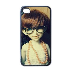 Red Braids Girl Old Apple Iphone 4 Case (black) by snowwhitegirl