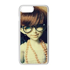 Red Braids Girl Old Apple Iphone 8 Plus Seamless Case (white) by snowwhitegirl