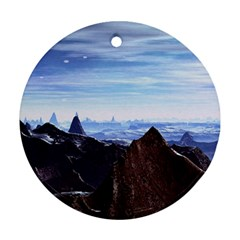 Planet Discover Fantasy World Ornament (round)