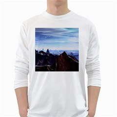 Planet Discover Fantasy World Long Sleeve T Shirt
