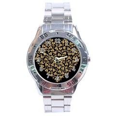 Colorful Prismatic Chromatic Heart Stainless Steel Analogue Watch by Pakrebo