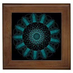 Ornament District Turquoise Framed Tiles