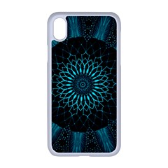 Ornament District Turquoise Apple Iphone Xr Seamless Case (white)