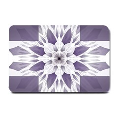 Fractal Floral Pattern Decorative Small Doormat