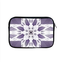 Fractal Floral Pattern Decorative Apple Macbook Pro 15  Zipper Case by Pakrebo