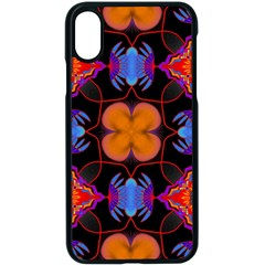 Ornament Colorful Color Background Apple Iphone X Seamless Case (black)