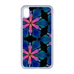 Ornament Digital Color Colorful Apple Iphone Xr Seamless Case (white)
