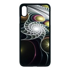 Fractal Bulbs Fantasy Curve Apple Iphone Xs Max Seamless Case (black)