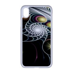 Fractal Bulbs Fantasy Curve Apple Iphone Xr Seamless Case (white)