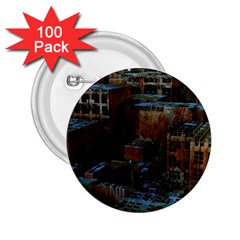 Building Ruins Old Industry 2 25  Buttons (100 Pack)  by Pakrebo