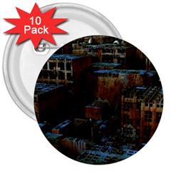 Building Ruins Old Industry 3  Buttons (10 Pack)  by Pakrebo